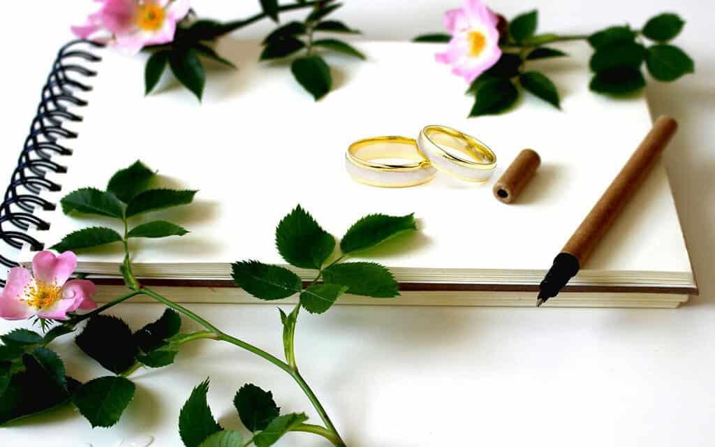 Svatební kniha: Skvělá památka na svatební den