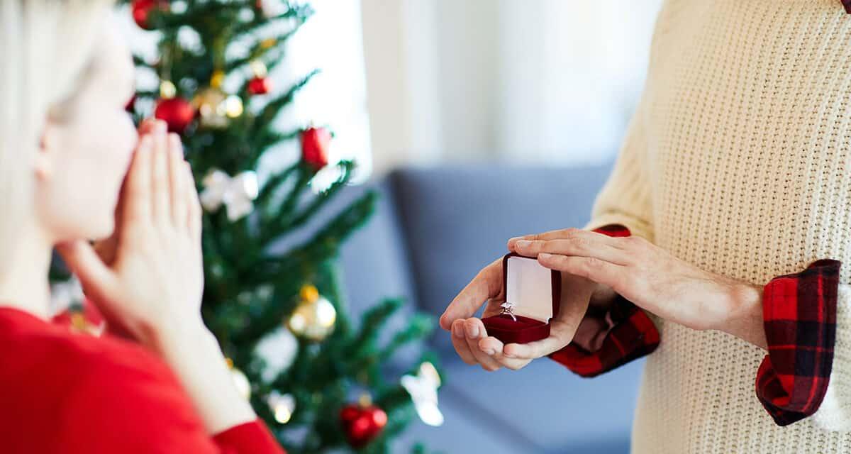 Žádost o ruku na Vánoce